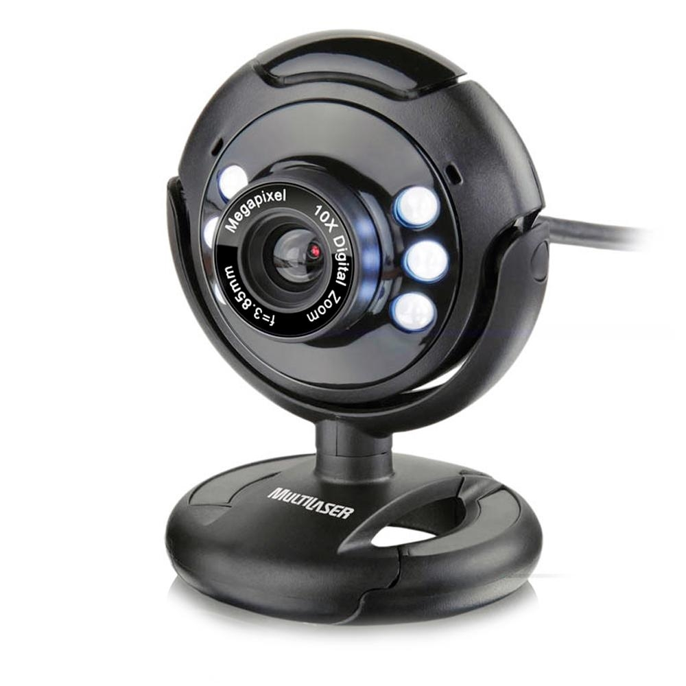 Webcam Multilaser 16.0 Megapixel WC045