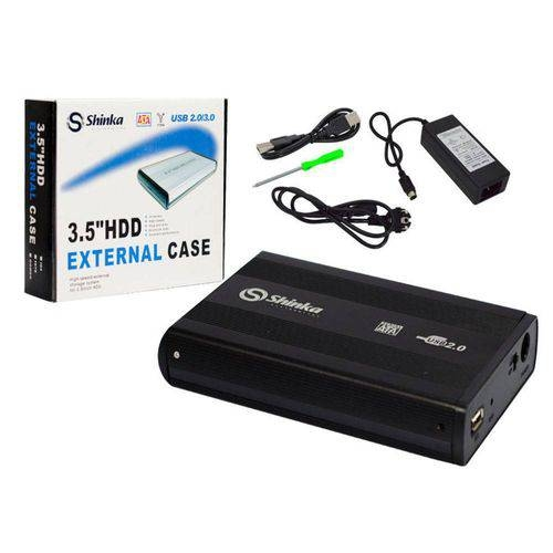 CASE GAVETA SHINKA HDD 3.5