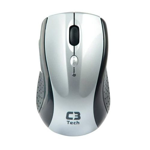 Mouse Wireless  C3 Tech M-W012 Silver