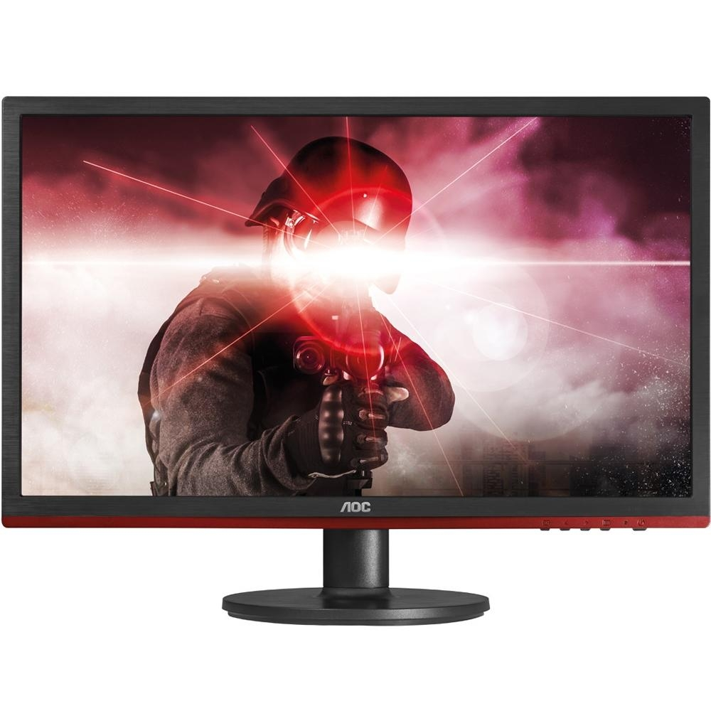 MONITOR GAMER AOC LED 24´ WIDESCREEN, FULL HD, HDMI/VGA/DVI/DISPLAY PORT, FREESYNC, SOM INTEGRADO, 1MS - G2460VQ6