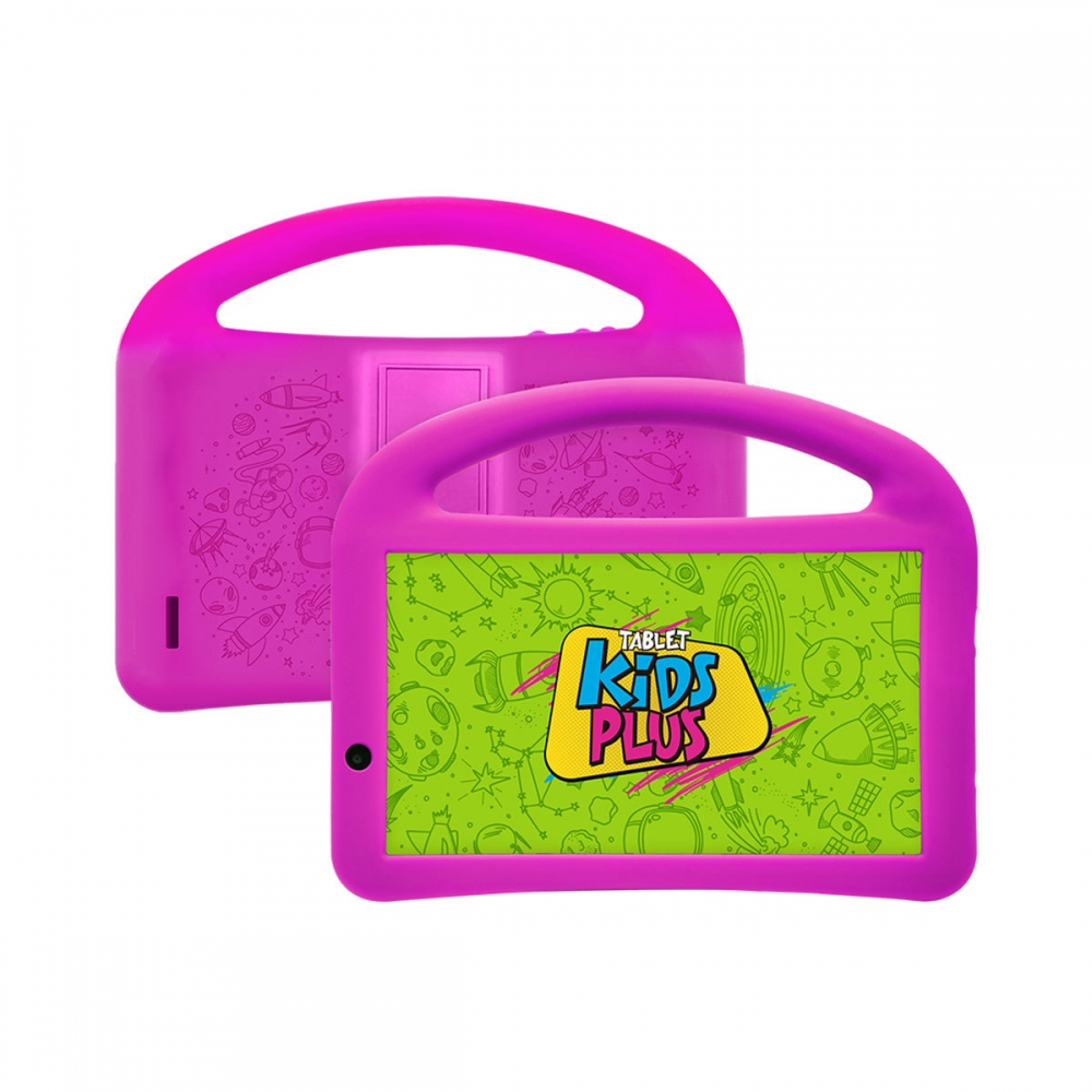 TABLET 7 DL KIDS PLUS CAPA ROSA TX398PCR