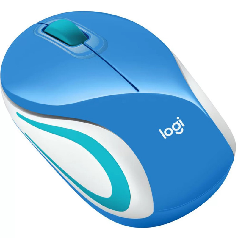 Mouse Wireless Logitech M187 Azul