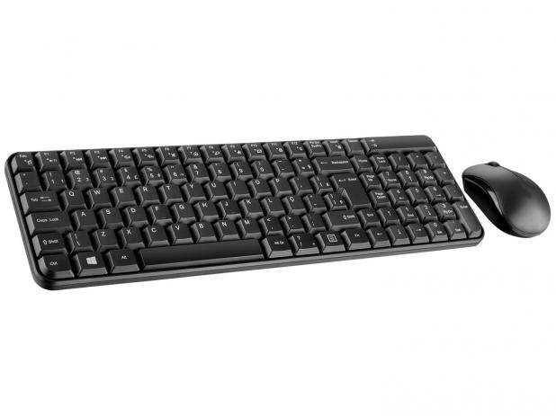 TECLADO E MOUSE WIRELESS MULTILASER TC183