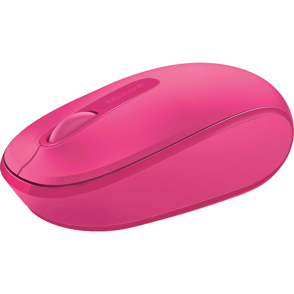 Mouse Wireless Microsoft 1850 Rosa Pink